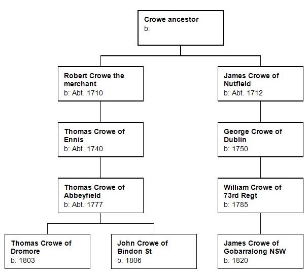 Fig 1 - The Crowe gentry of County Clare - final version (1)